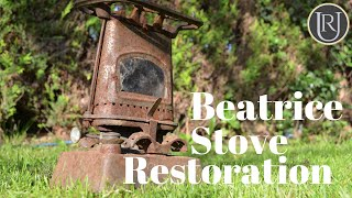 Paraffin Cooking Stove Restoration, Old Tool Restoration