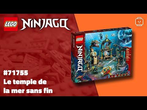 Vidéo LEGO Ninjago 71755 : Le temple de la Mer sans fin
