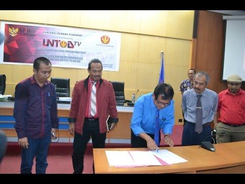 Dok Humas Untad, Rapat Evaluasi Dengar Pendapat Untad TV  Bersama KPID Sulawesi Tengah Di ruangan Rektorat Lt.II UNTAD Palu.
