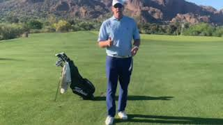 If club head passes your grip and chest, it will lead to more consistent contact