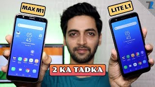 Asus Zenfone Max M1 & Zenfone Lite L1 - Unboxing & Hands On