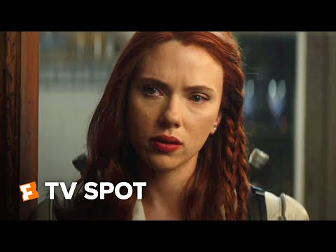 Black Widow Super Bowl TV Spot