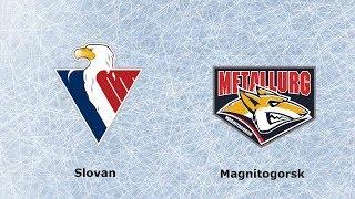 HC Slovan Bratislava VS CHK Metallurg Magnitogorsk KHL HIGHLIGHT