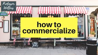 How Firms Commercialize Their Products: How to Bring Your Product To Market