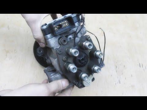 Насос VP-44. Как проверить клапана опережения и клапан дозатор.