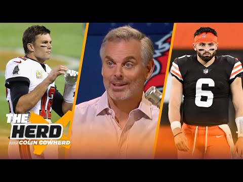 Bucs could face blow out VS. Packers, Steelers will end Browns' win streak — Colin | NFL | THE HERD