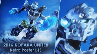 BIONICLE 2016 KOPAKA UNITER Retro poster BTS