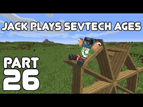 Fully Powered Jack! Jack plays Minecraft: SevTech Ages Part