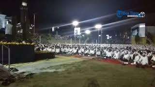 Ustaz Amri Amir Bawakan Tausiyah di Lapangan Gasis Soppeng pada Peringatan Tahun Baru Islam