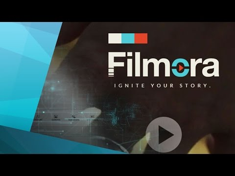 Filmora Video Editor tutorial
