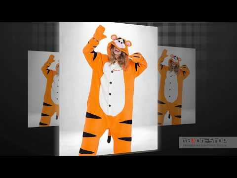 Мужская пижама кигуруми Тигра для парней