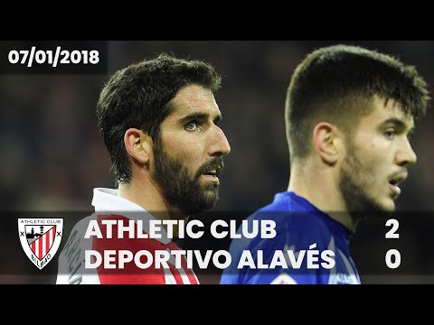 ⚽ FULL MATCH I LaLiga 17/18 I J.18 Athletic Club 2 – Deportivo Alavés 0
