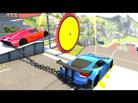 High Speed Jumps&Crashes #34 - BeamNG Drive Crash Testing