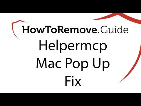Helpermcp Pop Ups Mac Fix (Mac CleanUp Pro)