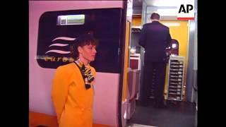 UK/France - Inaugural Public Chunnel Train Run