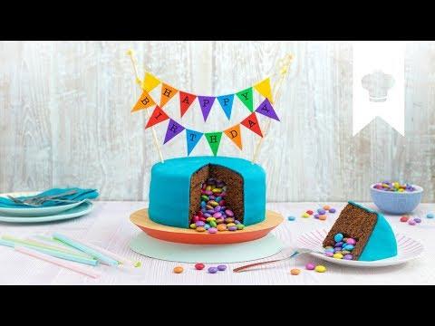 Piñata Kuchen I Leckere Geburtstagsüberraschung | EDEKA