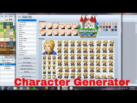 Rpg Maker Mv Character Generator