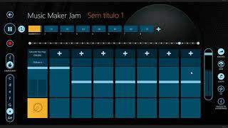 fazendo musica no music maker jam de pc (windows 10)