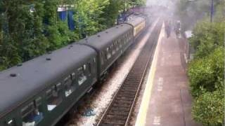 preview picture of video '4492 Dominion of New Zealand at Shalford, 26th May 2011, Cathedrals Express to Bristol'