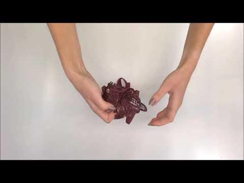 Koketní tanga Luiza thong berry - Obsessive