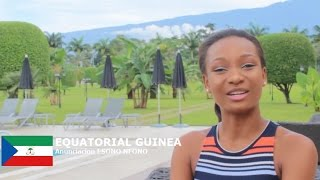 Anunciacion Ongueme Contestant from Equatorial Guinea for Miss World 2016 Introduction