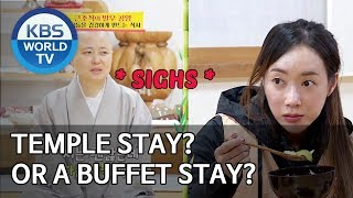 Temple stay? or a Buffet Stay? [Boss in the Mirror/ENG/2019.12.08]