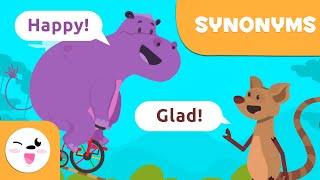 SYNONYMS for Kids - What are synonyms? - Words that have the same meaning
