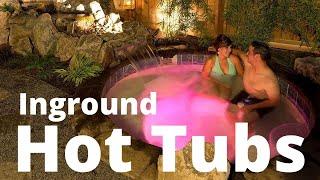 Custom Inground Hot Tubs
