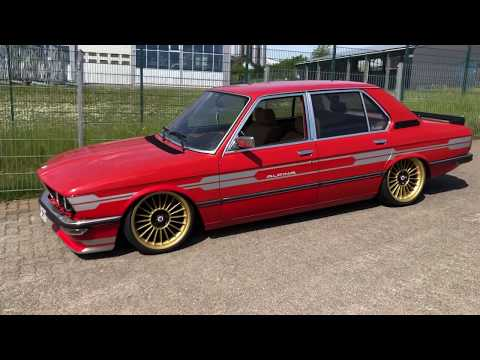 "BMW 5series E12 Static on 18"" Alpina wheels - walk around 