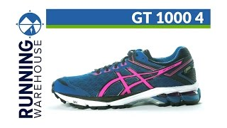 Asics GT-1000 4 Women's Running Shoes video