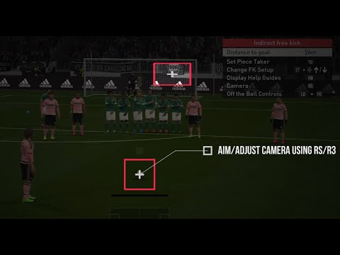 PES 2016 Free Kick Tutorial (Xbox One, PC, Playstation 4)