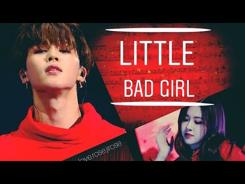 💜Jirose💜 Rose (blackpink) & Jimin (bts) • little bad girl •