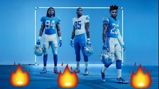 Detroit Lions Uniforms / New Unis My reaction / review