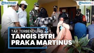 Tangis Istri Praka Martinus, Personel TNI Korban Penembakan Bripka CS di Kafe Wilayah Cengkareng