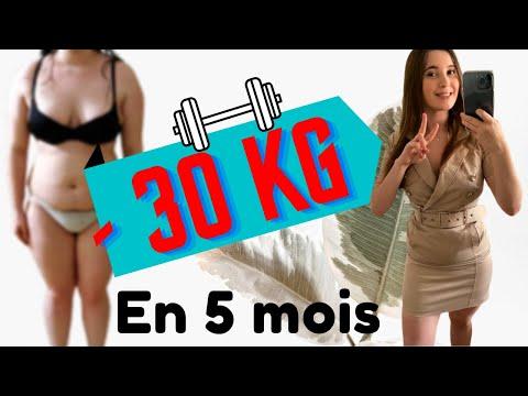 Gros enfant perd du poids