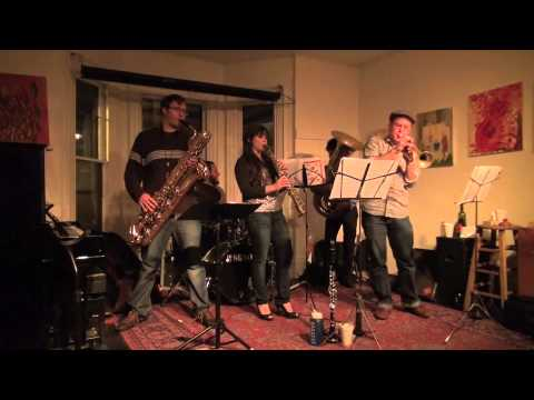 Bobby Spellman's Underground Society Band, an avant-garde brass band with roots in jazz, funk, Balkan music, and Dixieland.