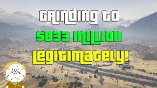 GTA Online Grinding To $833 Million Legitimately And Helping Subs