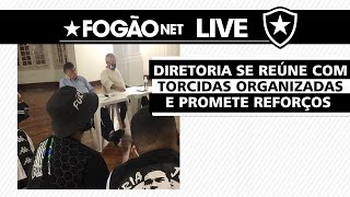 LIVE | Botafogo promete reforços para Série B e traz atualizações sobre S/A e obras do CT