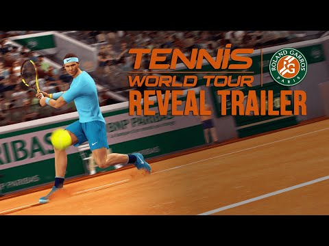 Tennis World Tour: Roland-Garros Edition - Nadal Reveal Trailer thumbnail