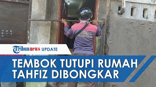 Anggota DPRD Pangkep Akhirnya Bongkar Tembok yang Tutupi Rumah Tahfiz, Mengaku Salah dan Minta Maaf
