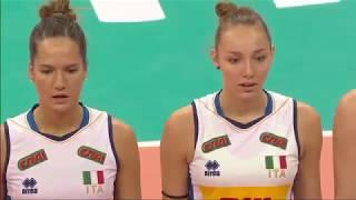 Women's VNL 2018: United States v Italy - Full Match (Week 1, Match 22)