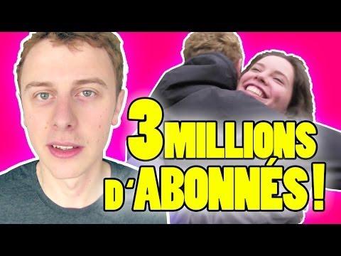 Oslava 3 milionů odběratelů