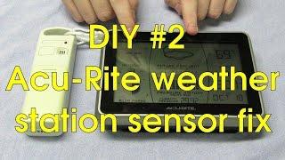 DIY #2 - Acu-Rite weather station sensor fix