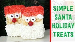 Really Simple Christmas Treats 🤶🏻 with Rice Krispies Treats & the Kids! 🎄