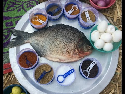 Amazing Big Fish Fry Recipe – Village Style Cooking – Full Fish Fry – Easy Fish Fry