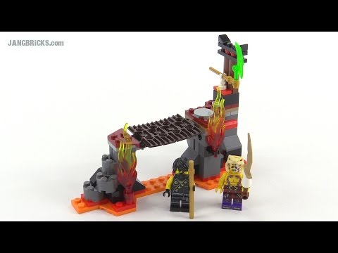 LEGO® NINJAGO™ Водопад лавы 70753