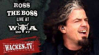 Ross The Boss   3 Songs   Live At Wacken Open Air 2017