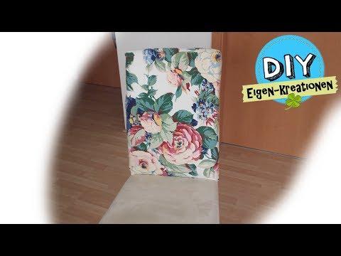 Stuhlhusse, Stuhlüberzug, I DIY Eigen Kreationen