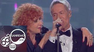 """Sanremo 2019 - Fiorella Mannoia e Claudio Baglioni cantano """"Quello che le donne non dicono"""""""
