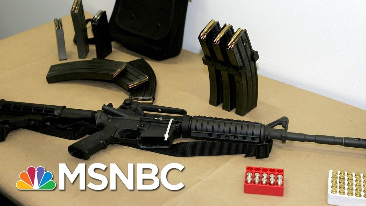 Here's How A Handgun Is Different To An AR-15 | Velshi & Ruhle | MSNBC thumbnail